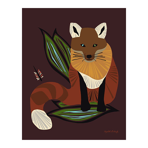 Mr. Fox Print