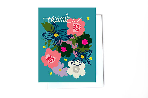 Snip Thank You Note Card