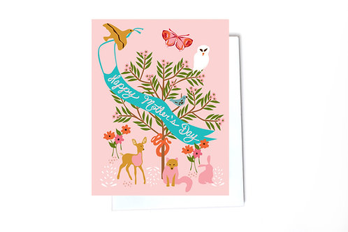 Forest Mother's Day Card