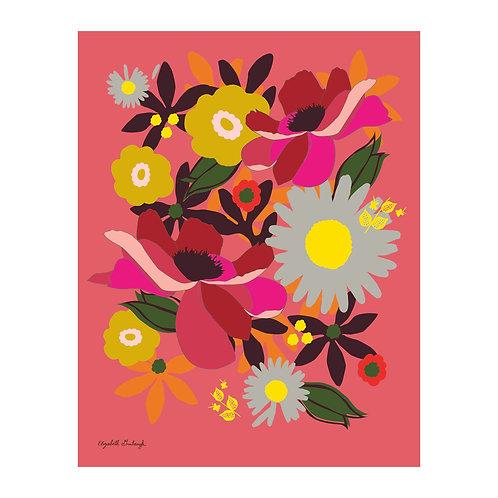 Backyard Garden Print