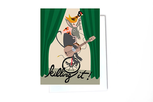 Killing It Note Card