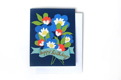 Happy Birthday Nosegay Note Card