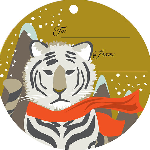 Tiger Gift Tags
