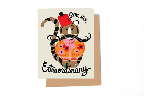 You Are Extraordinary Card