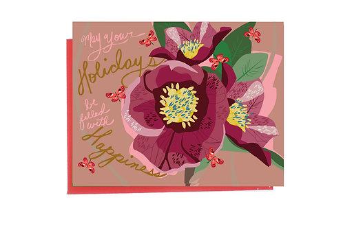 Hellebore Holiday Card