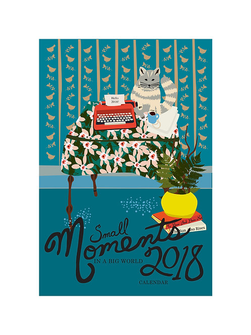 2018 Small Moments in a Big World Calendar