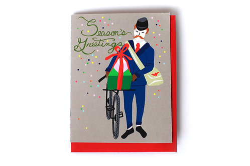 Holiday Delivery Note Card