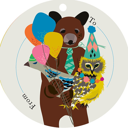 Bear & Friends Gift Tags