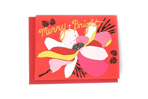 Merry & Bright Note Card