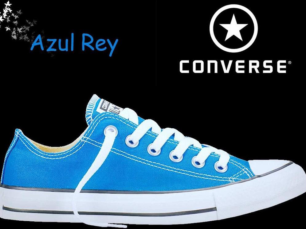 converse azules rey