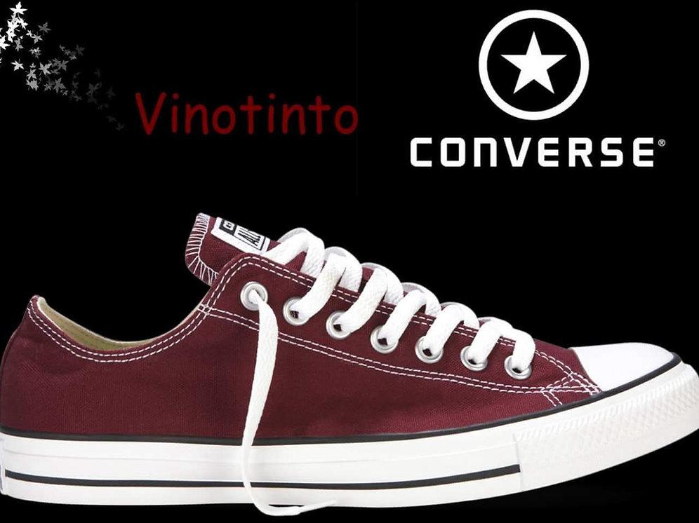 converse all star vinotinto