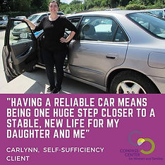 Carlynn received several one-on-one fina