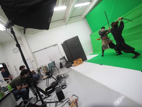 夏の陣「岩櫃乱舞」、映像効果用の撮影!