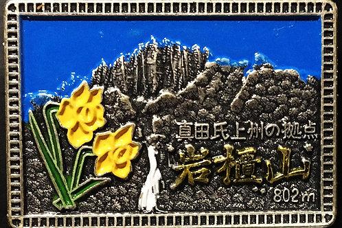 岩櫃山/山バッヂ(カラー)