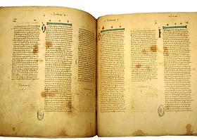 daterend de oudste manuscripten van het nieuwe Testament