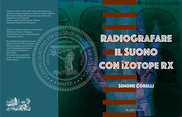 Copertina libro iZotope RX, versione con