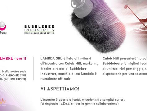 Presentazione Bubblebee in Lambda