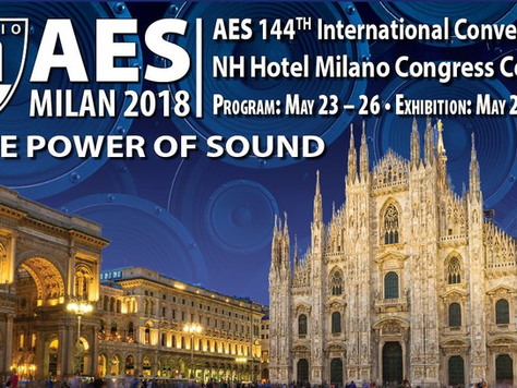 """AES organizza """"The Power of Sound"""" a Milano"""