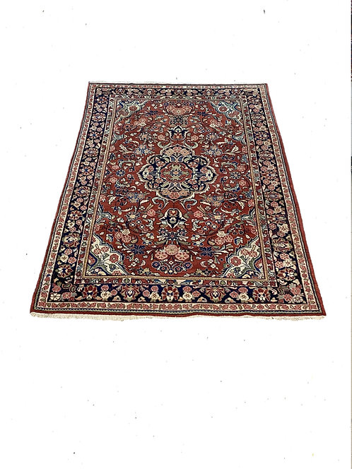 7x10 Red/Blue Sarook Rug PA1473