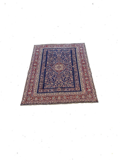 8x10 Red/Blue Handmade Rug