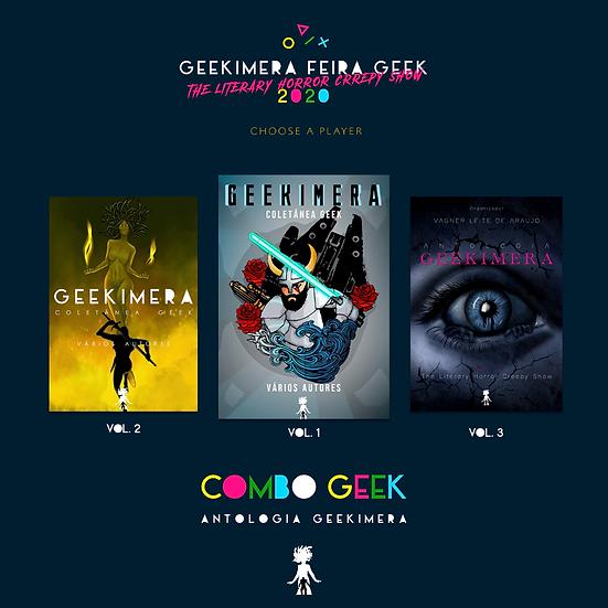 Combo Geekimera vol. 1, 2 e 3 - Vários Autores