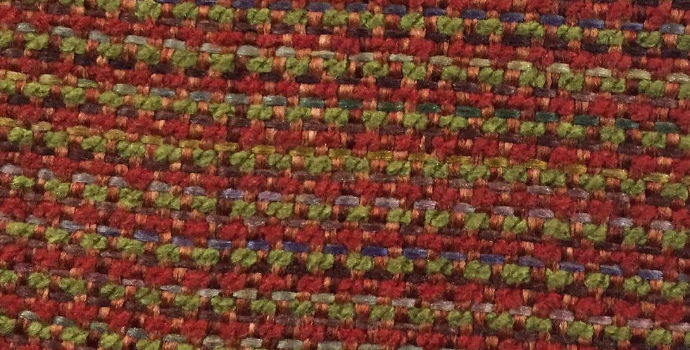 Soft Red & Green Mingle Woven