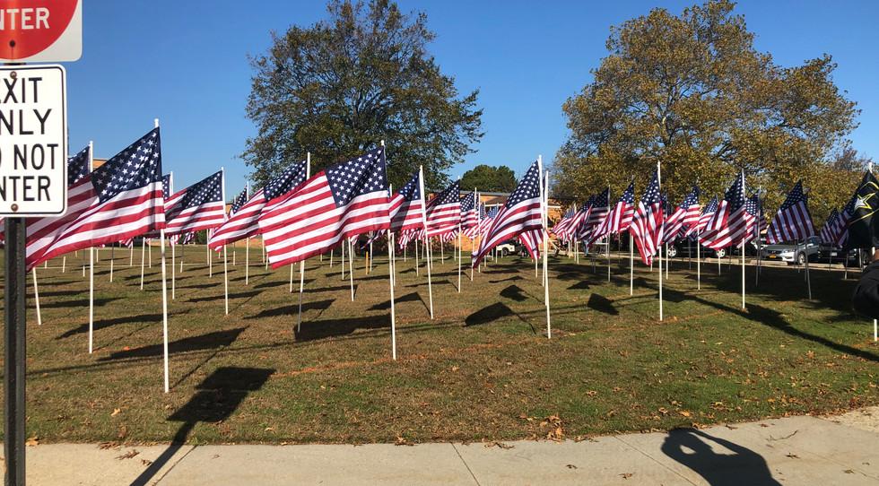 American Flag- Field of Honor - The Krug Team