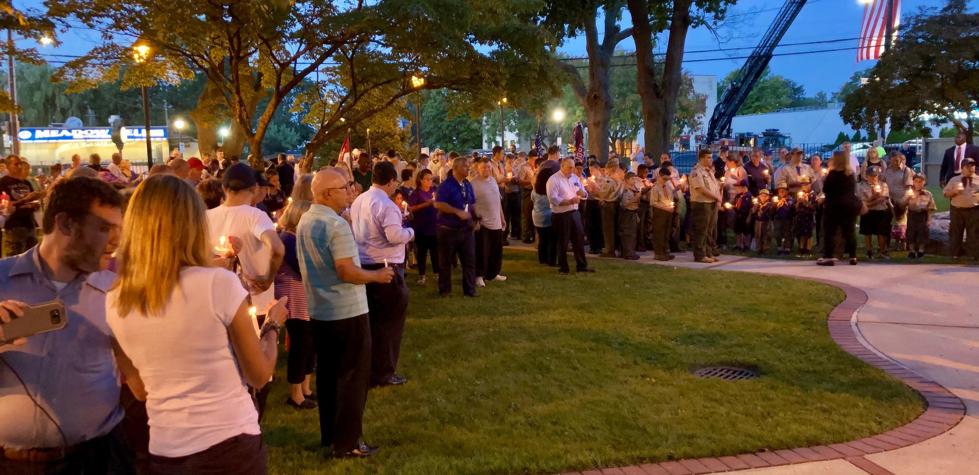Community Vigil 9/11