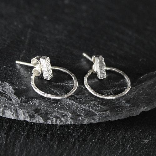 Bar Circle Back Earrings