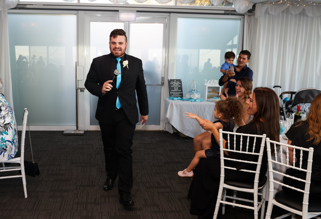 Nathan Cassar: Master of Ceremonies enters the stage to get the party started