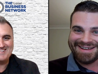 Interview with Colin Potts fromThe Local Business Network, Macarthur