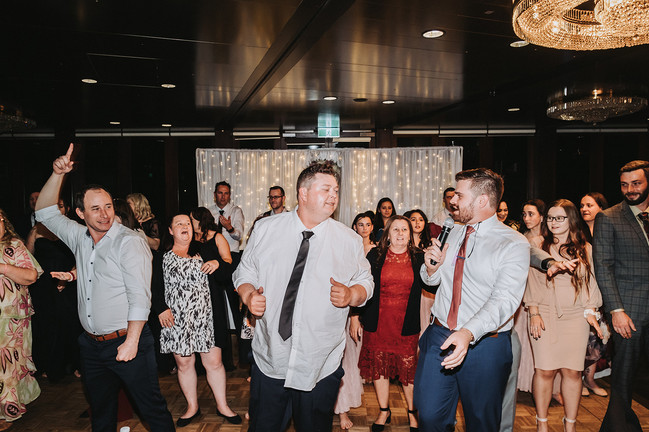 Nathan Cassar: Master of Ceremonies teaching guests on the dancefloor how to dance and have a good time
