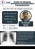 Clues to Unusual Diagnosis in Paediatric Pulmonology