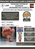 Voiceless Victims of Scorpion Envenomation: Class 11