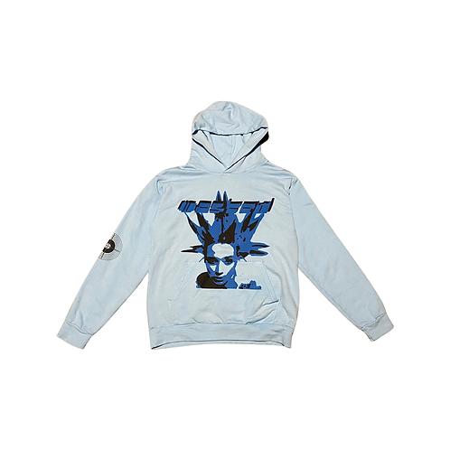 Baby blue hoodie