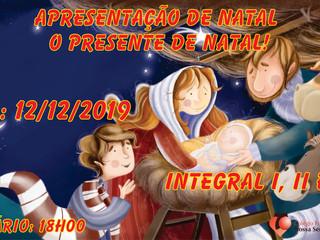 Apresentação de natal do Integral