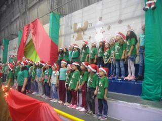 Cantata de Natal no Colégio