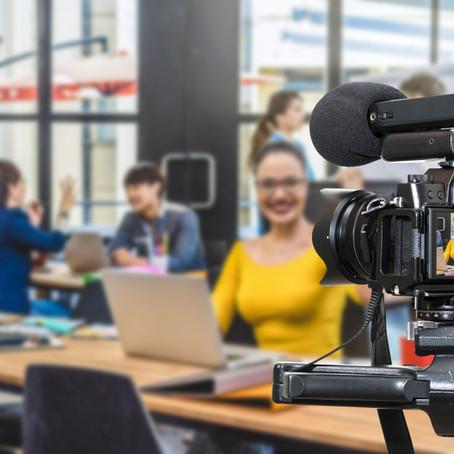 Três razões para ter vídeo institucional