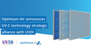 Optimum Air announces UV-C technology strategic alliance with UVDI in the fight against COVID-19