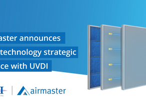 Airmaster announces UV-C technology strategic alliance with UVDI in the fight against COVID-19