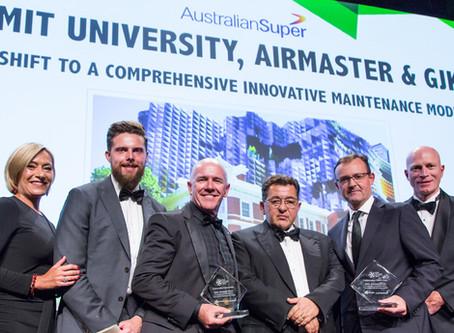 Airmaster, GJK and RMIT have won the Collaborative Partnership Award