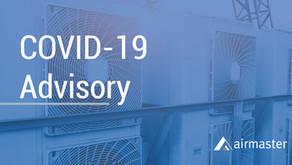 COVID-19 Advisory – 30th March 2020