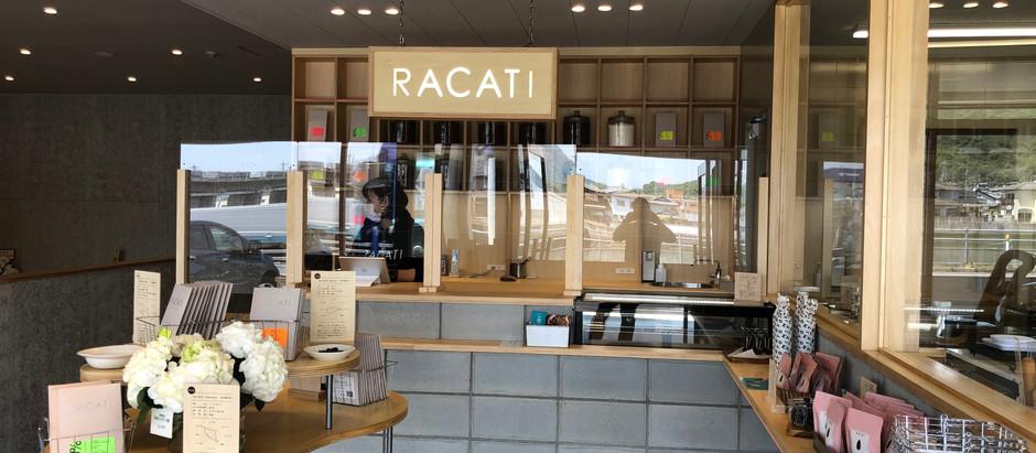 RACATIさん OPENしました。