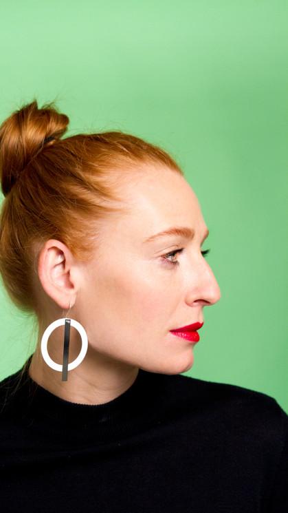 PUNKT KOMMA STRICH I earrings