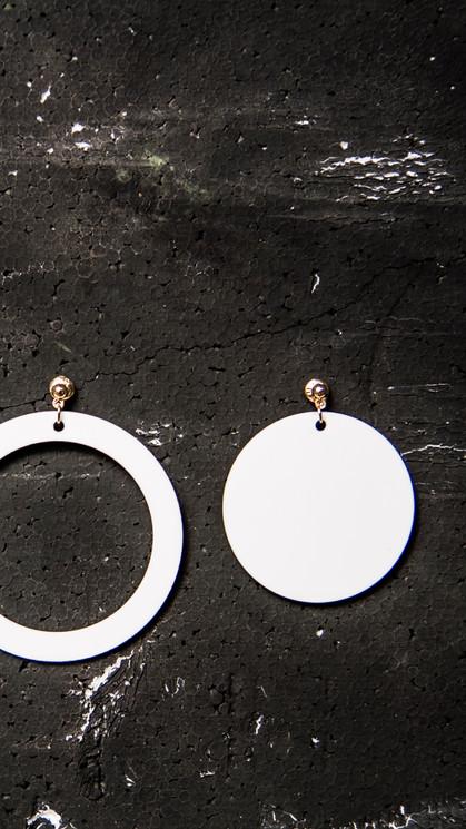 ROUNDROUND I earrings