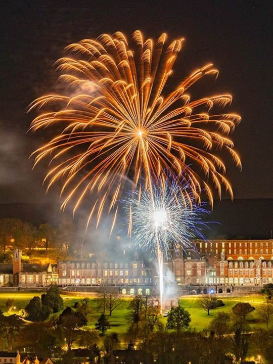 Great photo of part of Firestorm Pyrotec