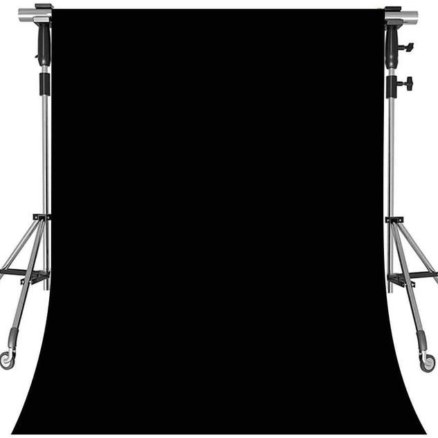 1.5 * 2.1m Professional Background Screen - Black
