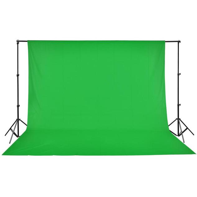 3m*3m Mulsin Backdrop Green