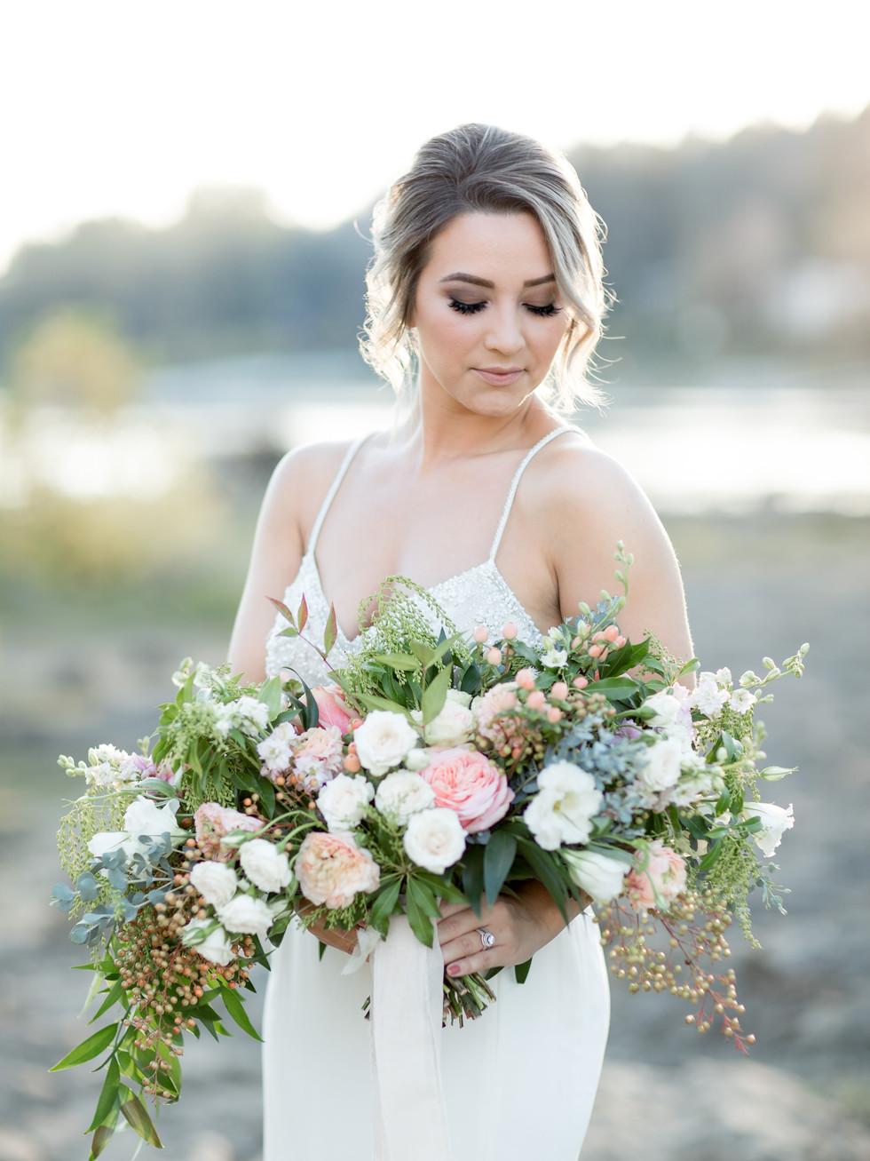 Fall Inspired Bridal Session Soft Glowy