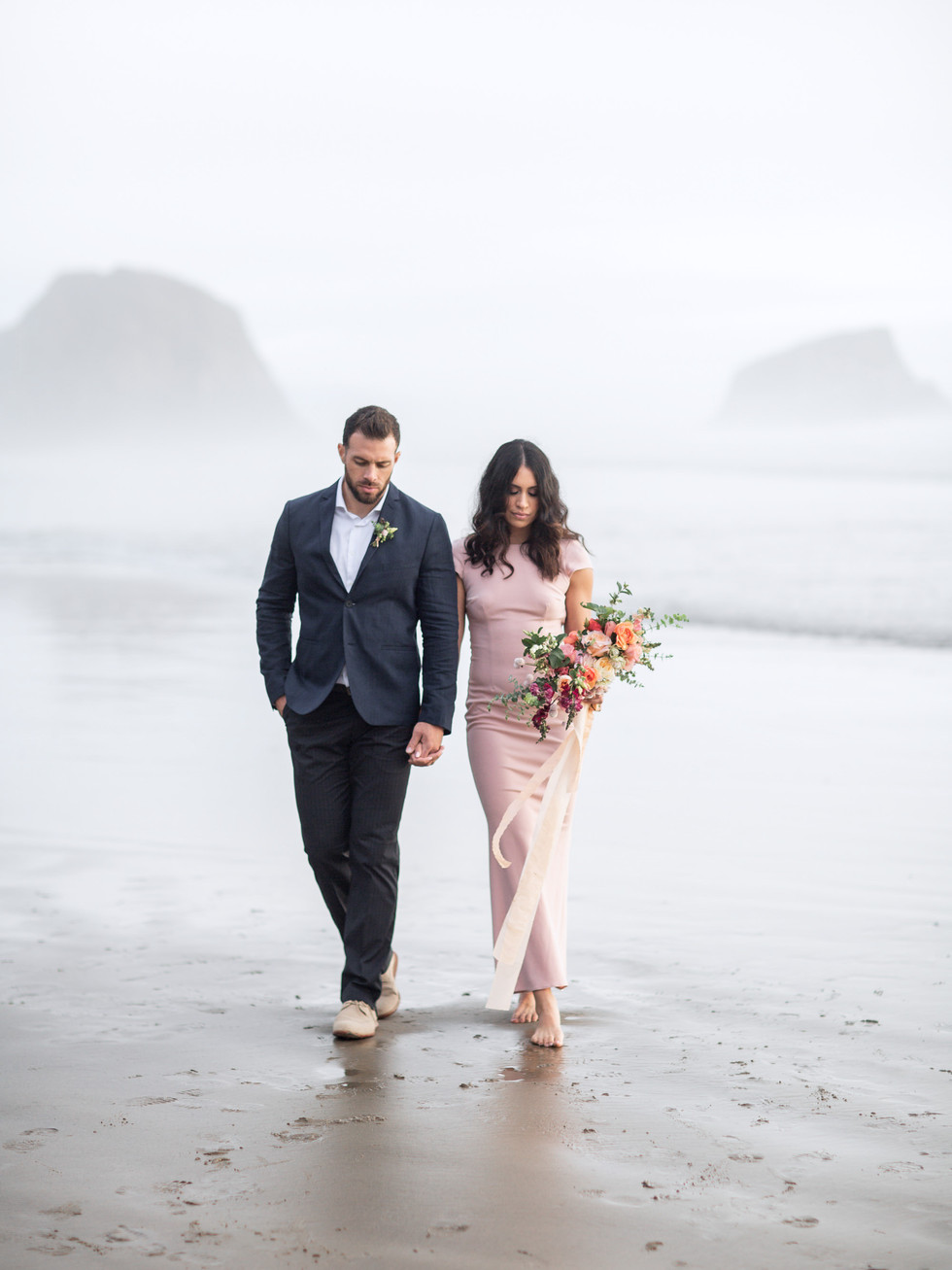 Cannon Beach Engagement Session Fine Art Wedding PPhotographer MacCoy Dean